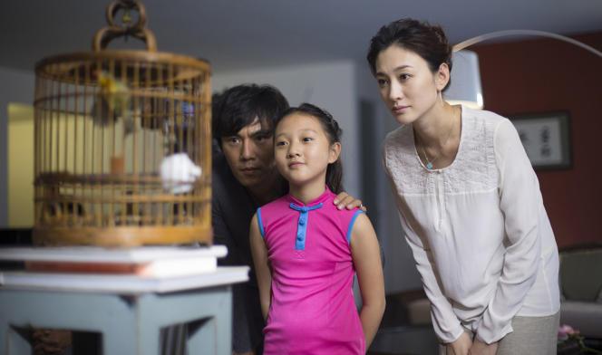 Qin Hao, Yang Xin Yi et Li Xiao Ran dans le film chinois et français de Philippe Muyl,
