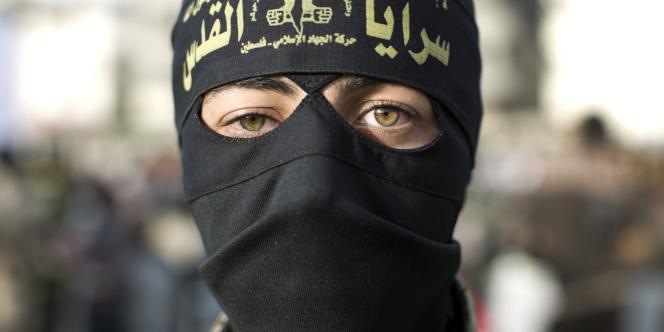 Un membre du Djihad islamique dans la bande de Gaza, le 15 avril 2014.