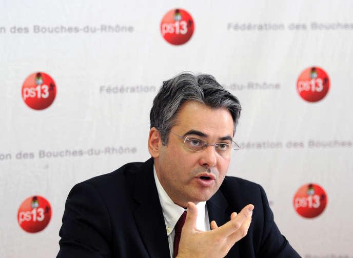 Jean-David Ciot, ici en 2011, a été réinstallé dans ses fonctions de premier secrétaire de la fédération des Bouches-du-Rhône en avril 2014.