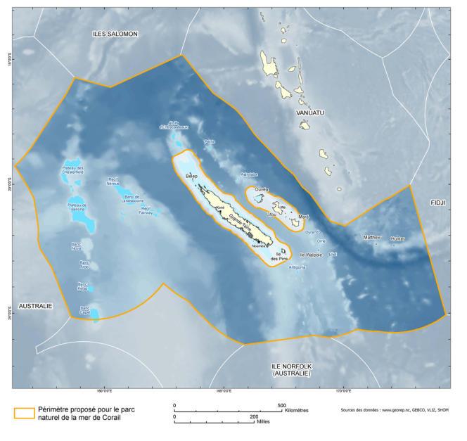 Le nouveau parc naturel de la mer de Corail.