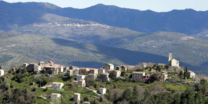 Le village corse de Poggio-di-Venaco.