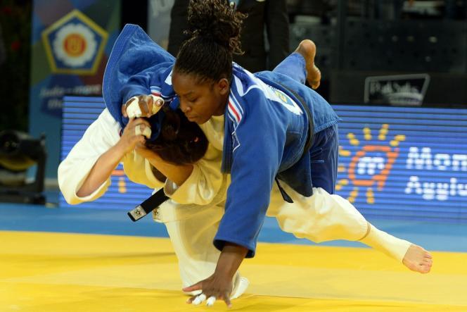Gévrise Emane quitte l'Euro de judo dès le premier tour, le 25 avril à Montpellier.