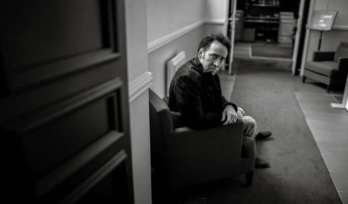 Nicolas Cage à Deauville en septembre 2013.