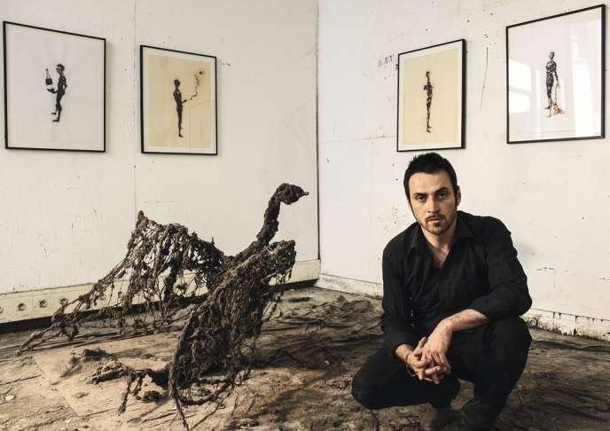 L'artiste Lionel Sabbaté.