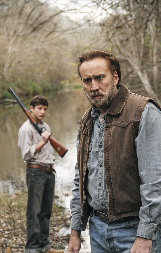 Tye Sheridan et Nicolas Cage dans