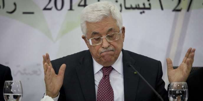 Mahmoud Abbas, samedi 26 avril.