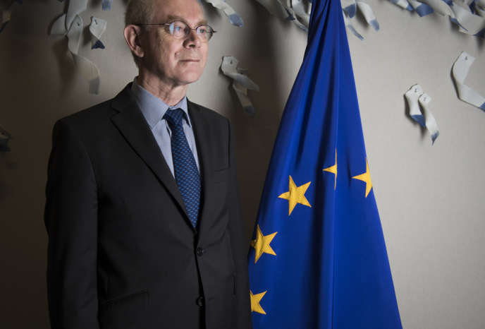 Au siège du Conseil de l'Union européenne, à Bruxelles, le 25 avril.