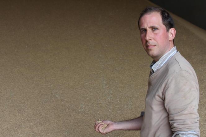 Christophe Mandrolini est riziculteur et propriétaire des silos de Tourtoulen, un organisme stockeur de riz.