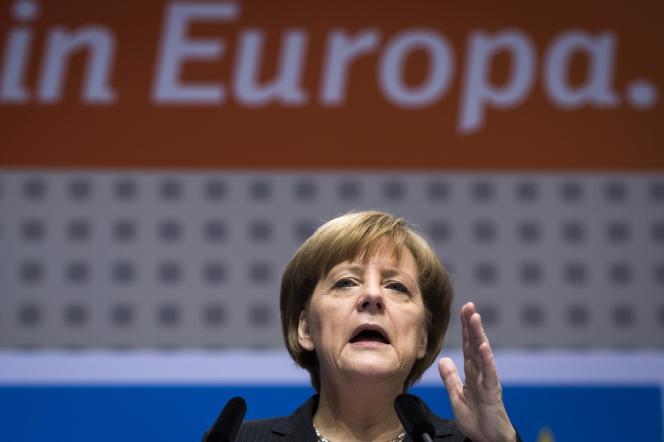 La chancelière allemande, Angela Merkel, le 5 avril, à Berlin.
