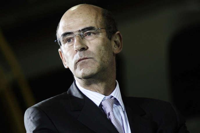 Patrick Kron, directeur général d'Alstom en 2009.