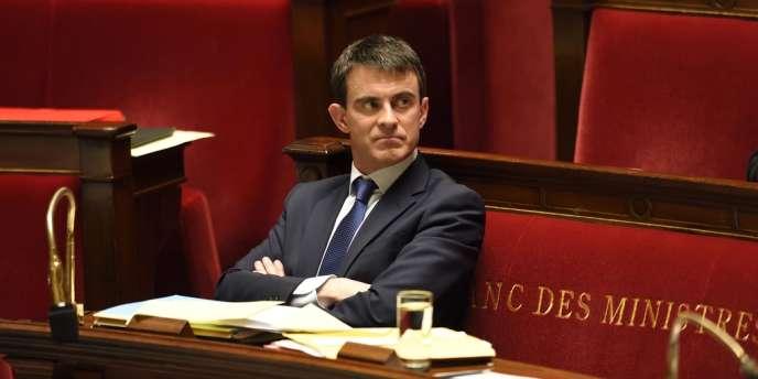 Le premier ministre Manuel Valls, le 29 avril.