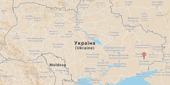 Donetsk, à l'est de l'Ukraine, compte près d'un million d'habitants.