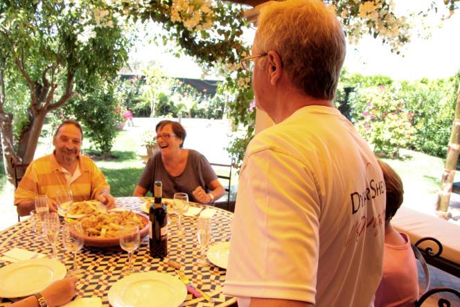 Michel et sa femme Catherine sont installés au Maroc depuis juillet 2012.