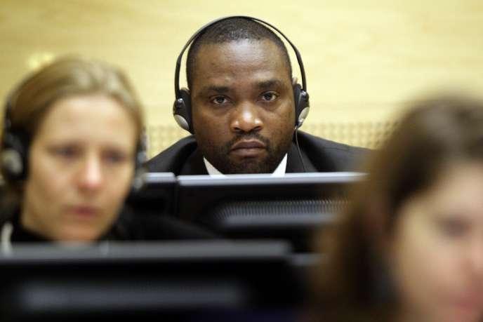 Les trois hommes ont été appelé à témoigner devant la CPI dans le procès de Germain Katanga (ici en 2009 à La Haye), un milicien congolais qui a depuis été reconnu coupable de complicité de crimes contre l'humanité.