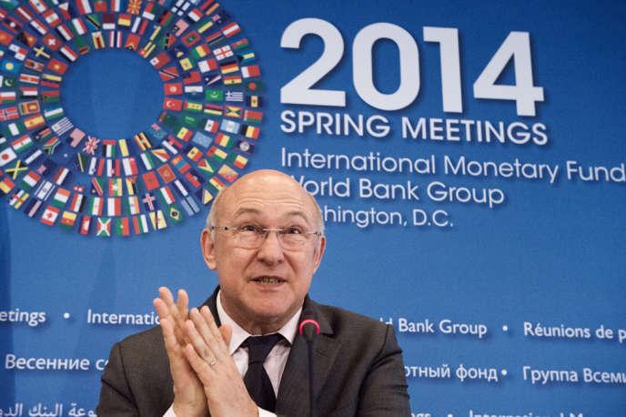 Michel Sapin prévoit la semaine prochaine, à Bruxelles, une avancée «décisive» sur la taxation des transactions financières.