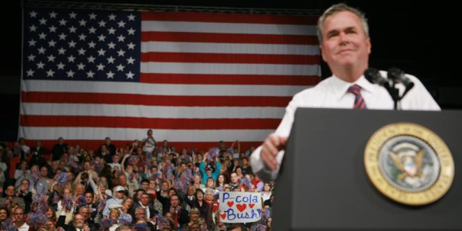 Jeb Bush, le 6 novembre 2006.