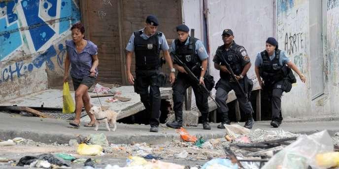 Depuis 2008, le gouvernement de Rio a installé 39 unités de police