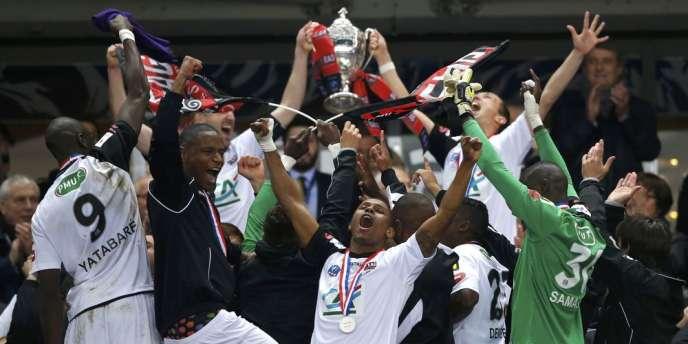 Déjà vainqueurs en 2009 de l'épreuve, les Guingampais ont battu Rennes samedi au Stade de France (2-0).
