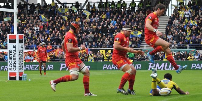 Perpignan, vaincu à Clermont, n'a pas réussi à sauver sa place en Top 14.