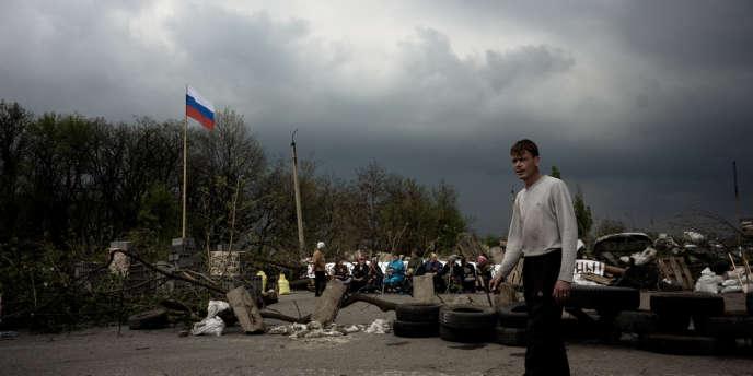 Sloviansk, ville de 100 000 habitants tenue par les séparatistes prorusses, est désormais totalement encerclée par l'armée ukrainienne.