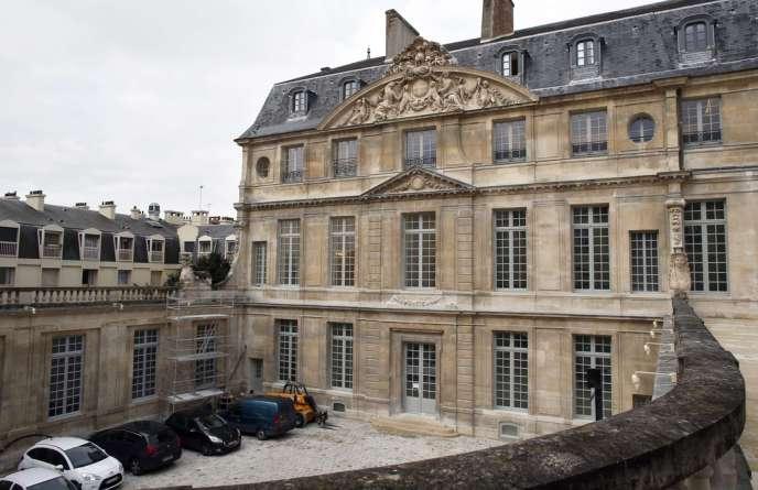 L'hôtel Salé, situé dans le Marais à Paris, abrite les collections du Musée Picasso.