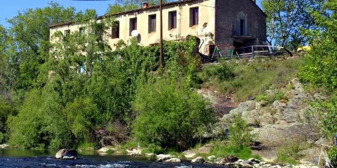 Deux enfant sont morts après avoir été ensevelis sous la terre à Ceyras, sur les bords de la Lergue — ici à Lodève.