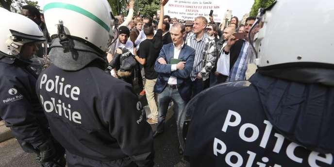 Le maire d'Anderlecht, commune de Bruxelles, a interdit la tenue, dimanche, du premier
