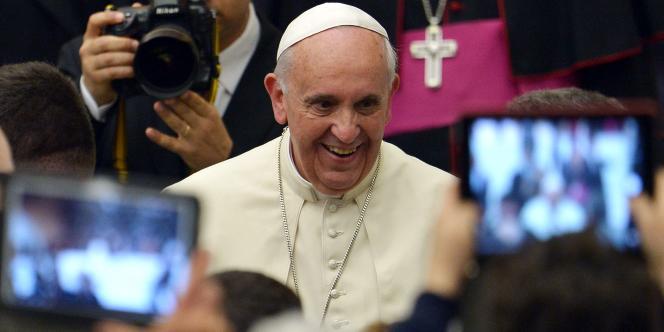 Le pape François, au Vatican, le 3mai.