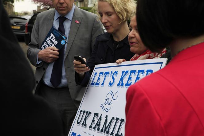 Des députés travaillistes du groupe Better Together font campagne pour le
