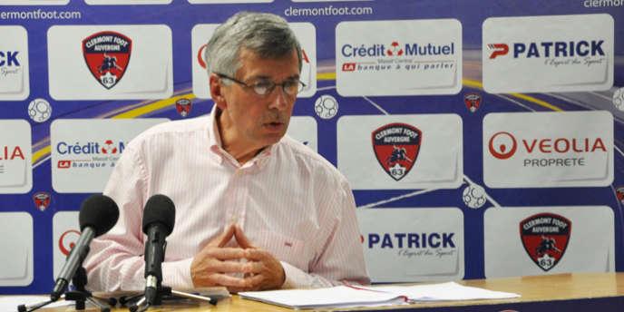 Claude Michy, 65 ans, préside Clermont Foot Auvergne depuis 2005.
