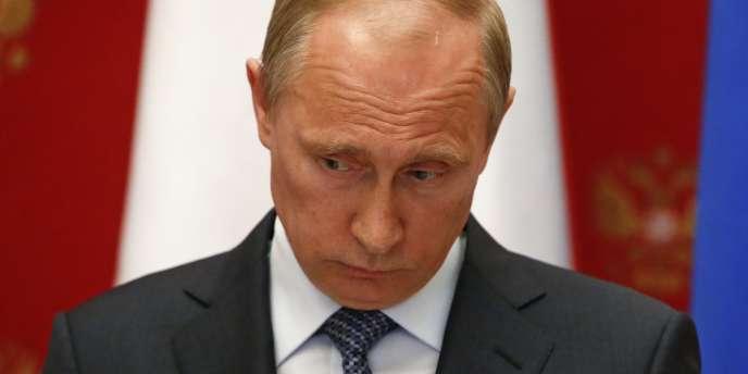 Le président de la Russie, Vladimir Poutine, le 7mai au Kremlin.