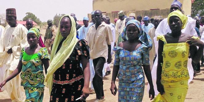 Ces quatre jeunes femmes font partie du groupe de 53 filles ayant réussi à s'échapper lors de l'enlèvement survenu à Chibok, au Nigeria.