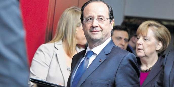 François Hollande, à Bruxelles, le 20 mars.