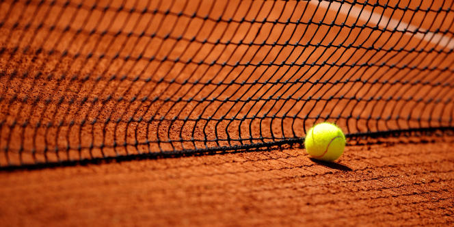 Une balle de tennis.