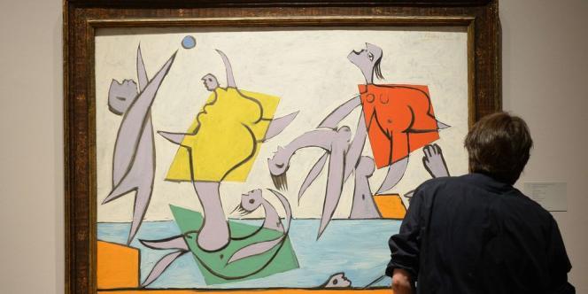 Le tableau « Le Sauvetage », peinture à l'huile datant de 1932, a récolté un total de 31,5 millions de dollars après des enchères de quelques minutes.