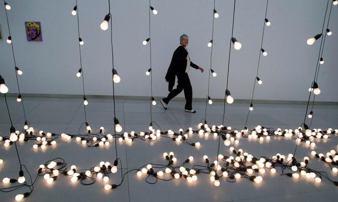 L'artiste américaine Sturtevant et son installation baptisée