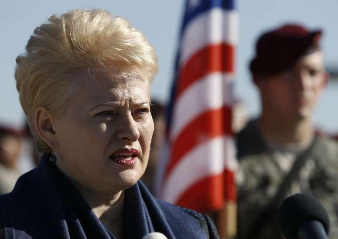 Le principal rôle du chef de l'Etat lituanien est de diriger la politique étrangère et la présidente sortante s'est illustrée pas ses critiques acerbes contre les agissements de la Russie dans la crise ukrainienne.
