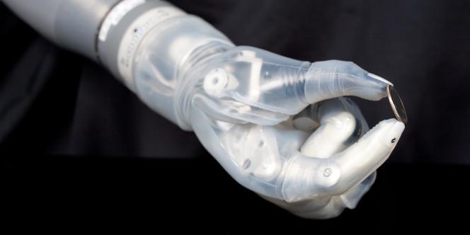 Vue d'une prothèse