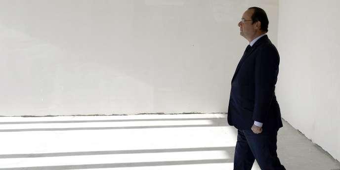 François Hollande le 11 mai 2014 à BAkou, en Azerbaïdjan