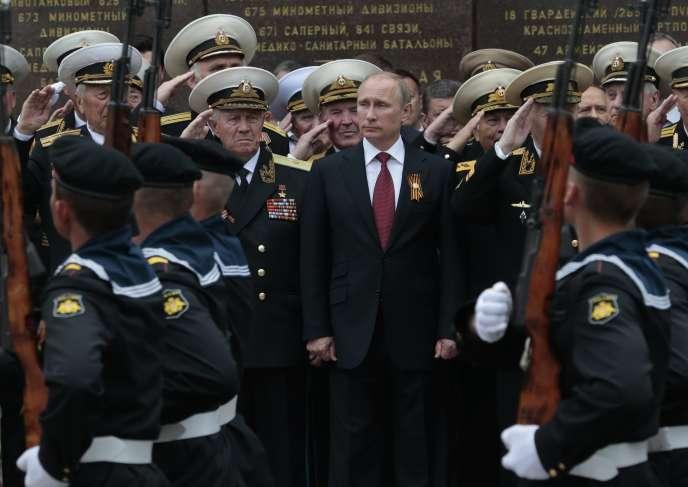 Vladimir Poutine, le 9 mai à Sébastopol.