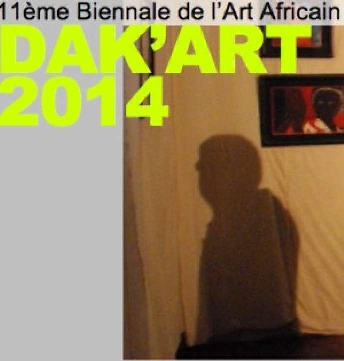 Affiche de la biennale sénégalaise Dak'Art, jusqu'au 18 juin.