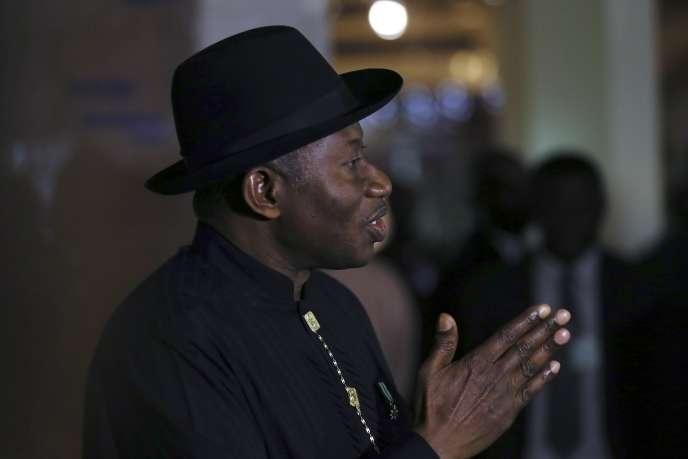 Le président nigérian, Goodluck Jonathan, le 9 mai, à Abuja.