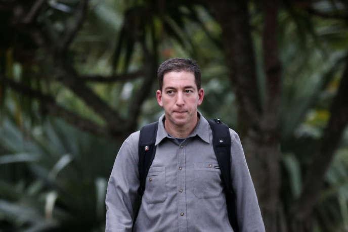 Glenn Greenwald, à Rio de Janeiro, en juillet 2013.