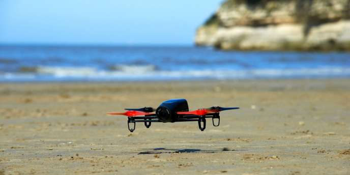 Le drone Bebop de Parrot.