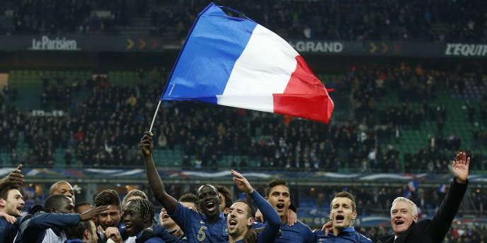 Le 19 novembre 2013, l'équipe de France se qualifiait pour le Mondial brésilien.