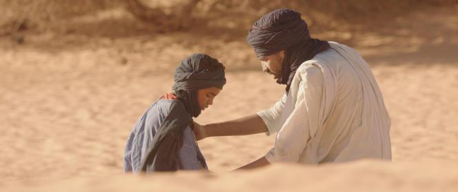 L'enfant Mehdi AG Mohamed et Ibrahim Hamed.