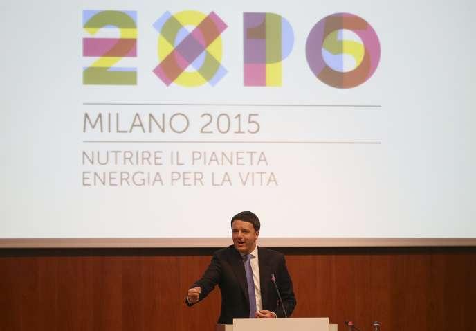 Matteo Renzi, le 13 mai à Milan.
