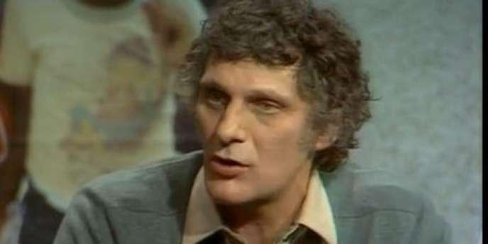 Jean-Louis Hurst le 20 octobre 1981 aux