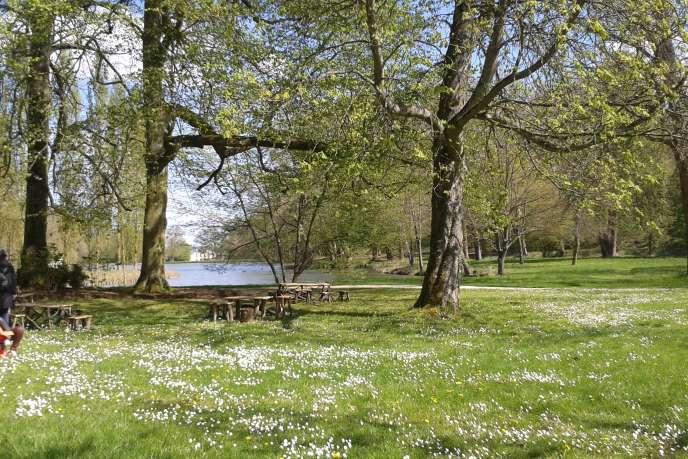 Parc Jean-Jacques Rousseau d'Ermenonville (Oise).