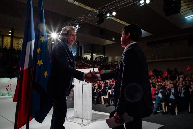 Manuel Valls à Lille, le 15 mai.